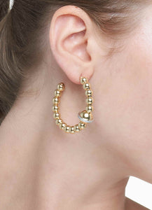 BARBARELLA COLLECTION GOLD EARRINGS