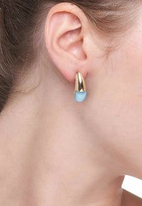 GOCCE COLLECTION EARRINGS - TURQUOISE