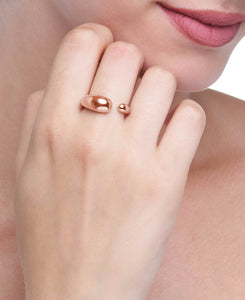 GOCCE  COLLECTION  RING    - ROSE GOLD