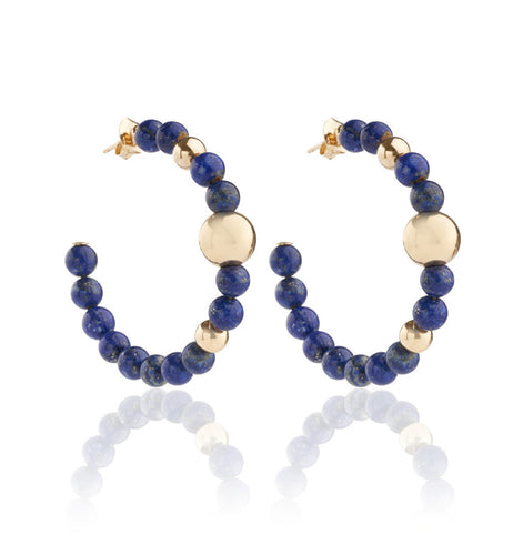 BARBARELLA COLLECTION EARRINGS - LAPIS