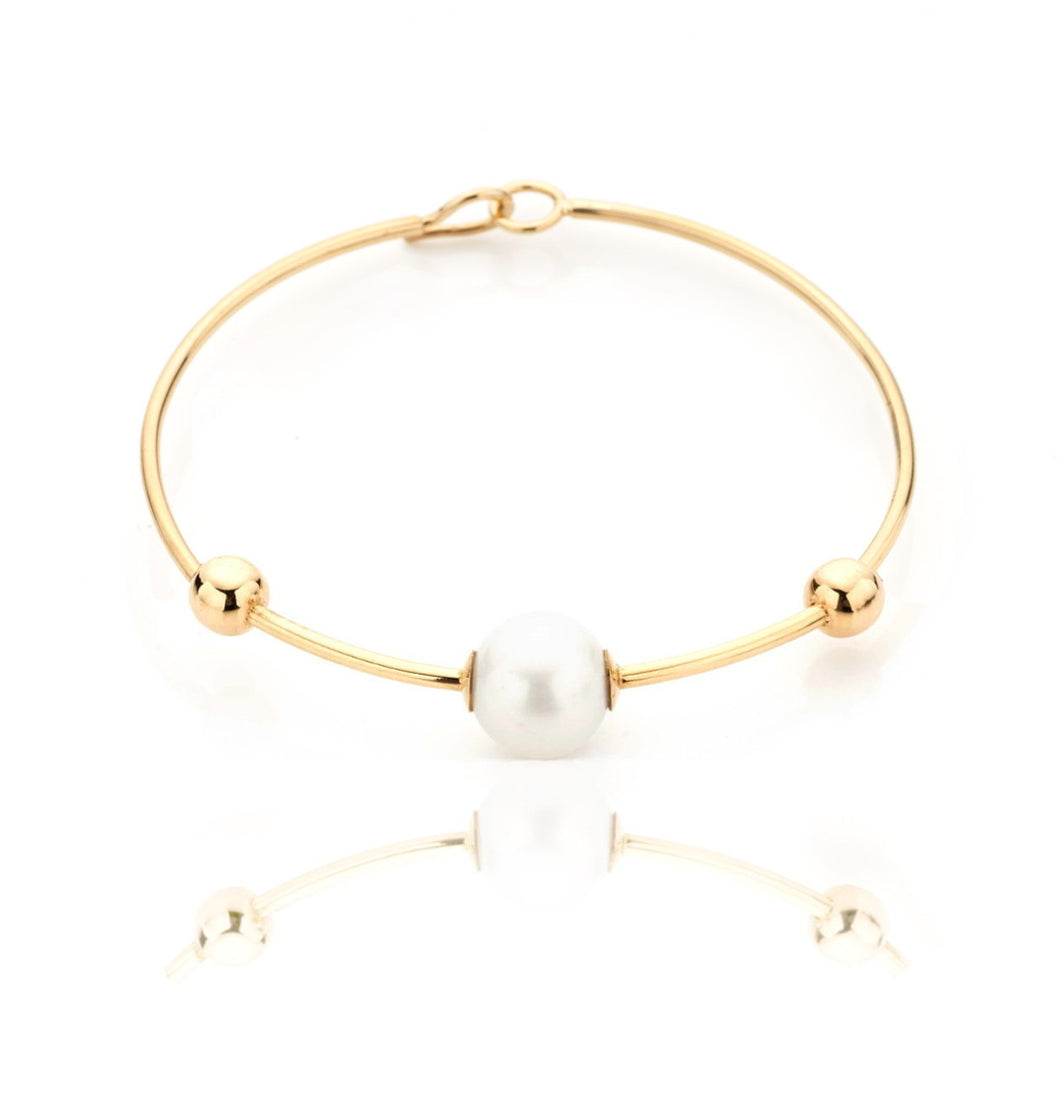 BARBARELLA COLLECTION 18KT GOLD  BRACELET - PEARL
