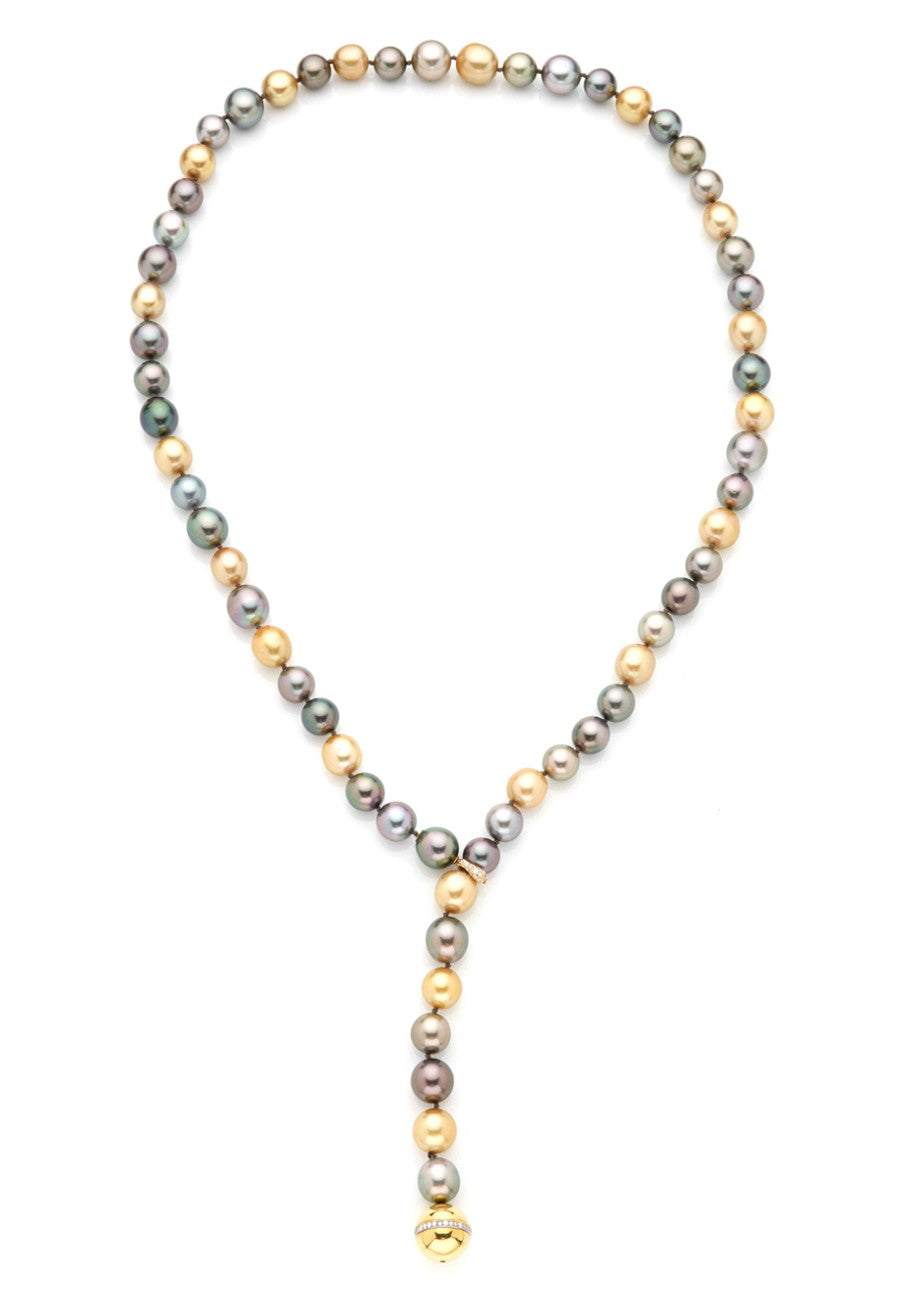 NECKLACE TAHITIAN PEARL - 36