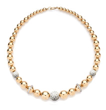 Load image into Gallery viewer, BARBARELLA COLLECTION 18KT GOLD NECKLACE