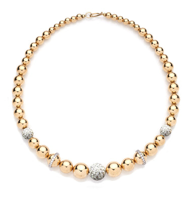 BARBARELLA COLLECTION GOLD NECKLACE