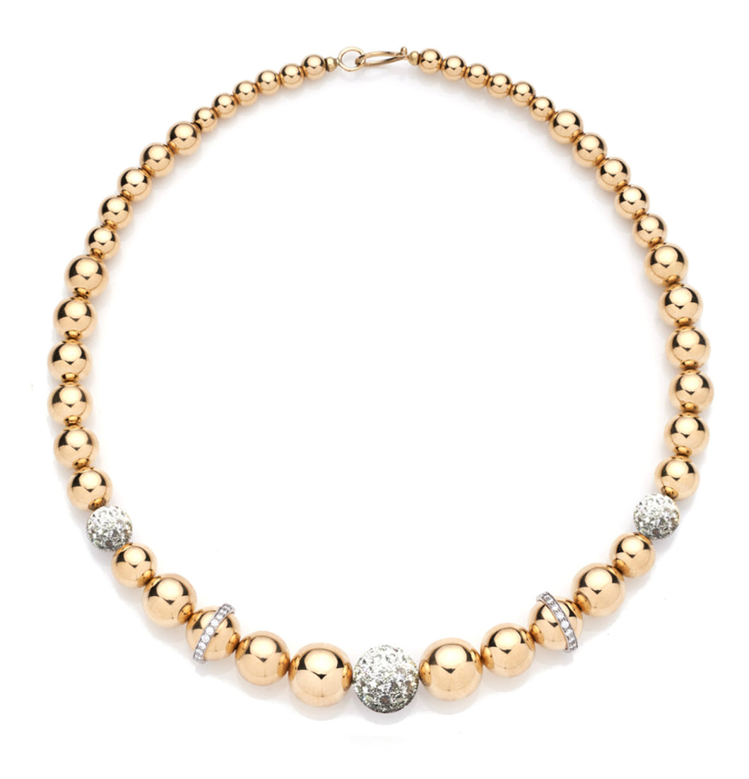 BARBARELLA COLLECTION 18KT GOLD NECKLACE