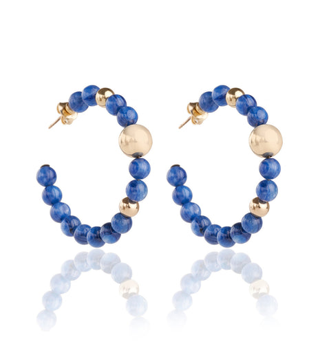 BARBARELLA COLLECTION EARRINGS - KYANITE