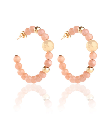 BARBARELLA COLLECTION EARRINGS - SUNSTONE