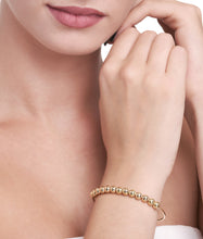 Load image into Gallery viewer, BARBARELLA COLLECTION 18KT GOLD BRACELET