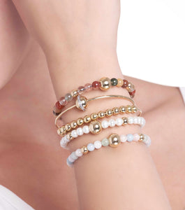 BARBARELLA COLLECTION BRACELET - PEARL