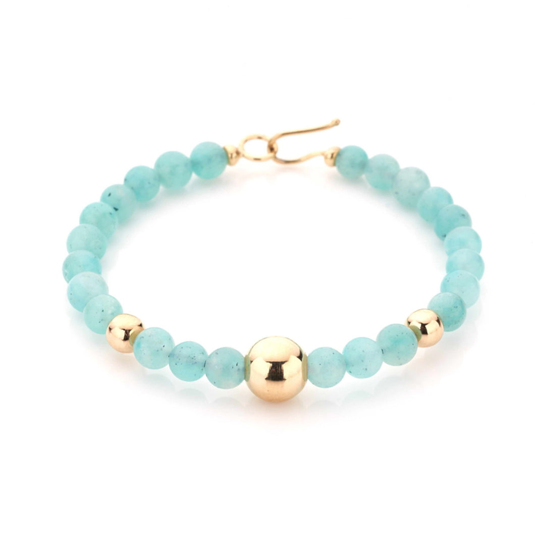 BARBARELLA COLLECTION BRACELET - AMAZONITE