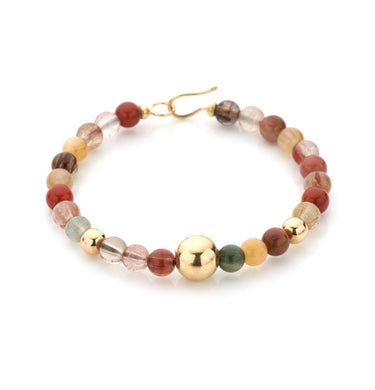 BARBARELLA COLLECTION BRACELET - RUTILATED QUARTZ