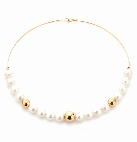 BARBARELLA COLLECTION  NECKLACE - 10mm PEARL