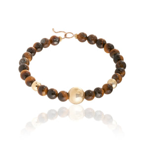 BARBARELLA COLLECTION BRACELET - TIGER'S EYE