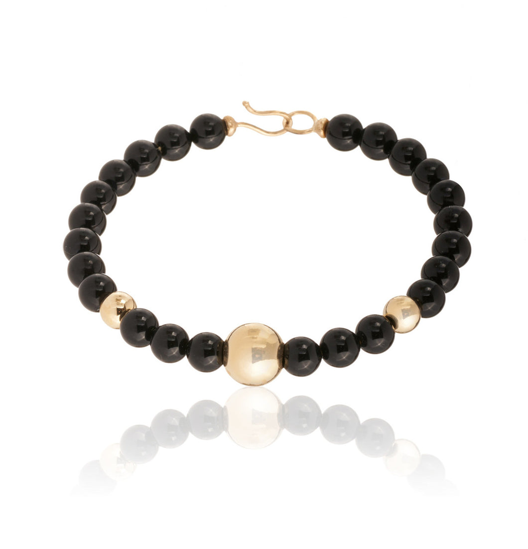 BARBARELLA COLLECTION BRACELET - ONYX