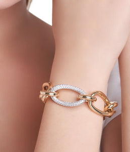 CONTESSA COLLECTION GOLD AND DIAMONDS BRACELET