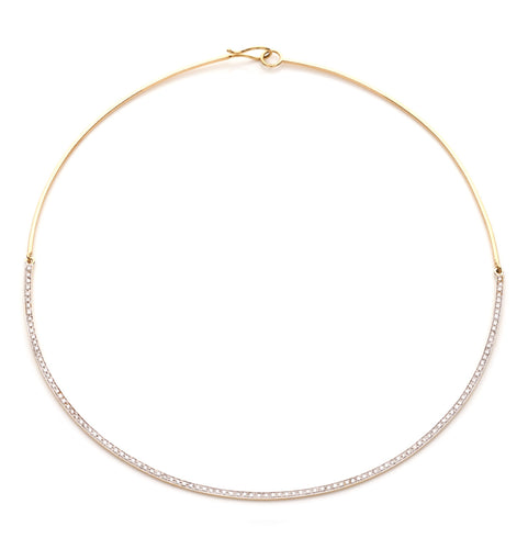 BARBARELLA COLLECTION GOLD AND DIAMONDS NECKLACE