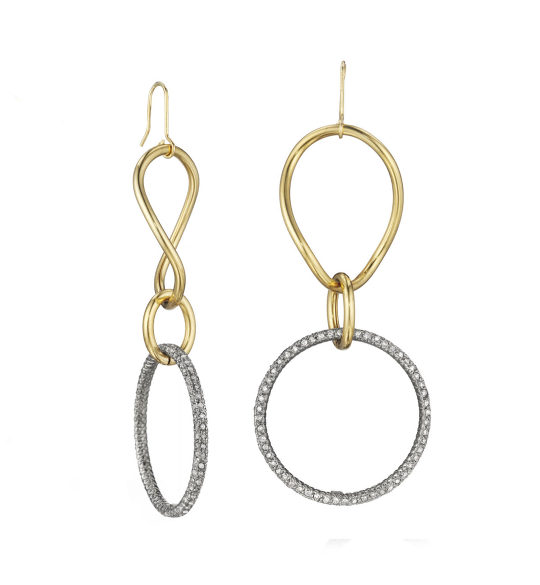 STELLA COLLECTION 18KT GOLD  - WHITE DIAMONDS