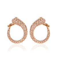 Load image into Gallery viewer, GOCCIOLINE COLLECTION BROWN DIAMONDS EARRINGS