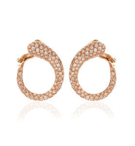 GOCCIOLINE COLLECTION BROWN DIAMONDS EARRINGS