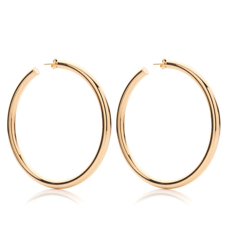 BARBARELLA COLLECTION GOLD EARRINGS - LARGE