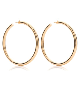 BARBARELLA COLLECTION 18KT GOLD EARRINGS - LARGE