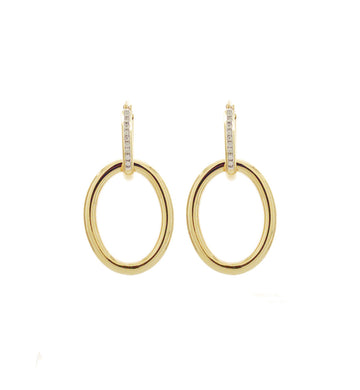 MAMA COLLECTION EARRINGS - GOLD AND DIAMONDS