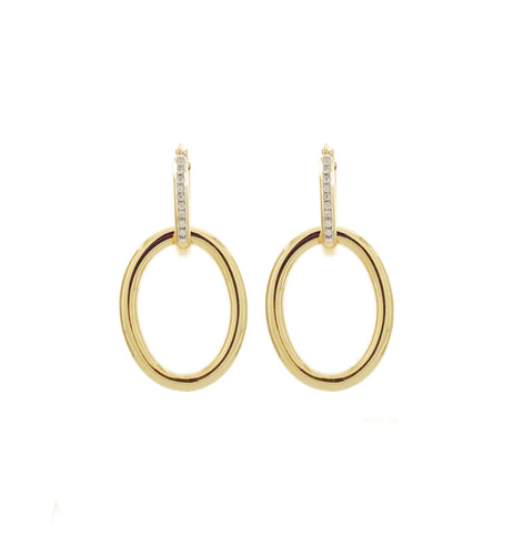 MAMA COLLECTION EARRINGS - 18KT GOLD AND DIAMONDS