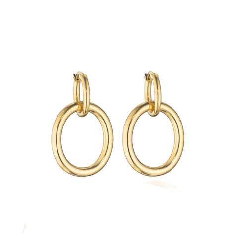 MAMA COLLECTION EARRINGS - 18KT GOLD