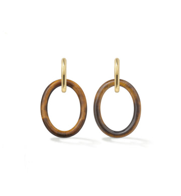 MAMA COLLECTION EARRINGS - TIGER EYE