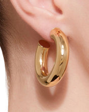 Load image into Gallery viewer, BARBARELLA COLLECTION 18KT GOLD EARRINGS - SMALL