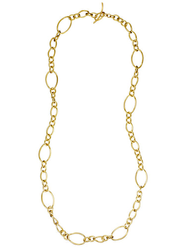 STELLA COLLECTION 18KT GOLD NECKLACE