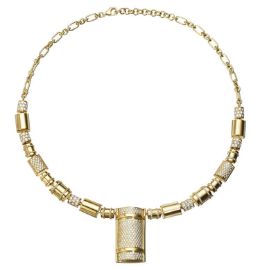 THE BULLET COLLECTION 18KT GOLD NECKLACE