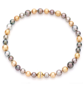 NECKLACE TAHITIAN PEARL - 22""