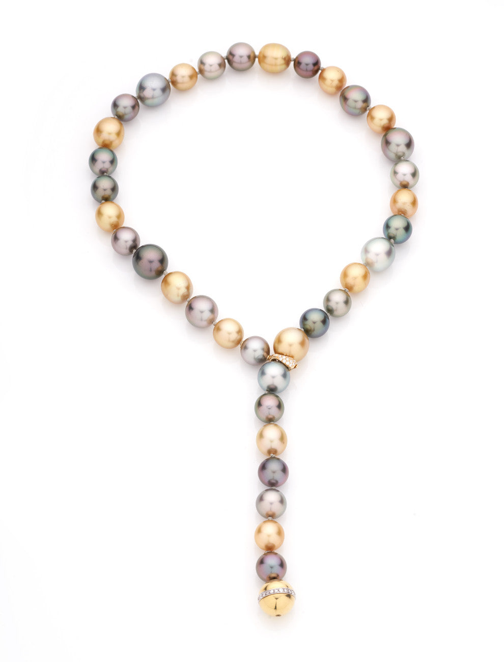 NECKLACE TAHITIAN PEARL - 22