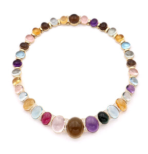"""CANDY"" - MULTI-STONE NECKLACE"