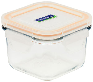 Glasslock Airtight Break Resistant Glass Kitchen Food Storage Container, Lunch Box, Microwave Safe, 210ml