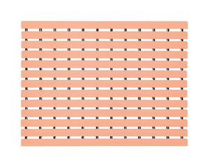 Premium Shower Mat By Delhidirect | Bath Mat (61 x 45cm) | Anti Slip | Skid Proof For Bathroom And Wet Area | Apricot