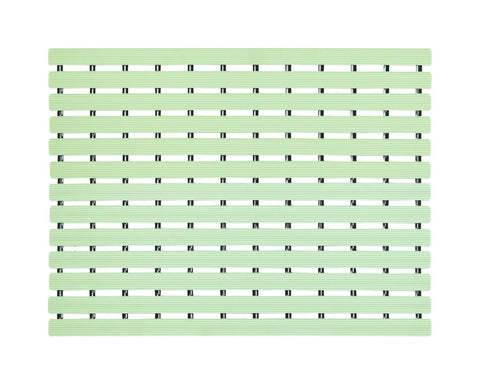 Premium Shower Mat | Bath Mat (61 x 45 cm) | Anti Slip Mat | Skid Proof Mat For Bathroom And Wet Area | Nile-Green