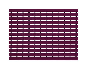 Premium Shower Mat | Bath Mat (61 x 45cm) | Anti Slip Mat | Skid Proof Mat For Bathroom And Wet Area | Burgandy