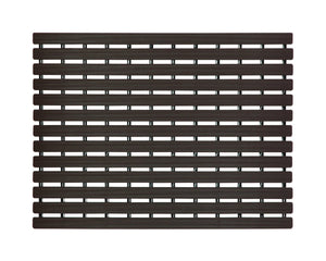 Premium Shower Mat | Bath Mat (61 x 45cm) | Anti Slip Mat | Skid Proof Mat For Bathroom And Wet Area | Chocolate-Brown