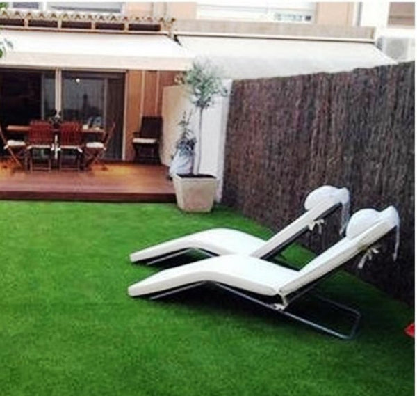 Artificial Grass Ultimate Quality by Delhidirect, High Density Artificial Grass Turf For Balcony, Lawn Fake Grass,Thick Synthetic Turf, Artificial Grass Doormat, Grass Carpet Mat (8 * 4 Feet = 32 Sq. Feet)