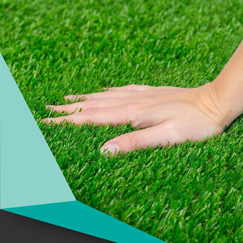 Ultimate Quality Grass by Delhidirect | High Density Artificial Grass | grass Turf For Balcony | Artificial Grass Doormat | Grass Carpet Mat (6.5 ft x 12 ft)