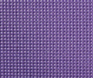 Obsessions Anti-Skid 5 mm Yoga Mats Large With Purple Color 80x173 cm