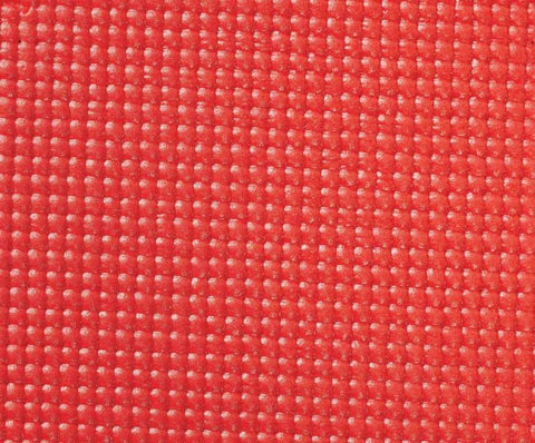 Obsessions Anti-Skid 5 mm Yoga Mats Large With Red Color 80x173 cm