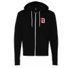 Giant Bomb - Interlocking Zippered Hooded Sweatshirt