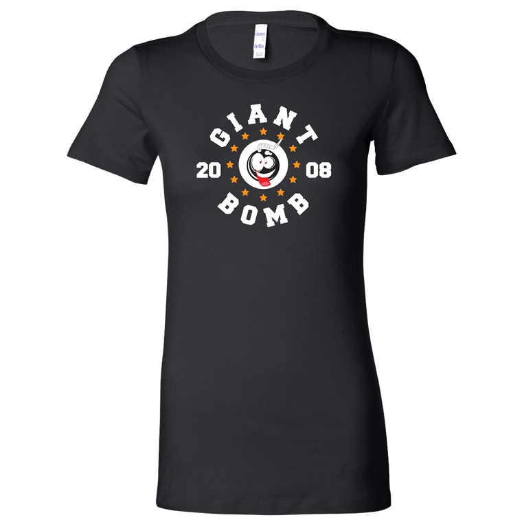 Giant Bomb Circle Stars Women's T-Shirt