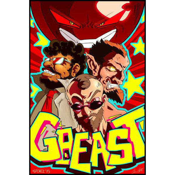 "Giant Bomb GBeast Poster 20""x30"""