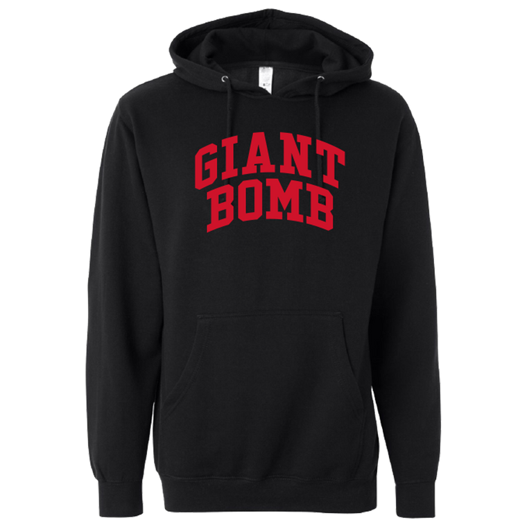 Giant Bomb - Collegiate - Hooded Sweatshirt