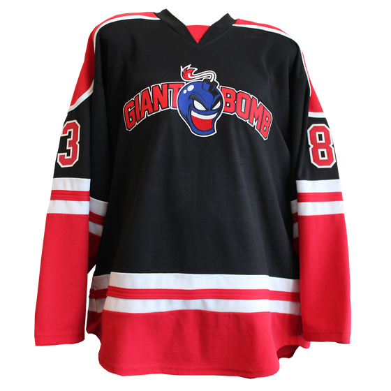 Official Giant Bomb Hockey Jersey