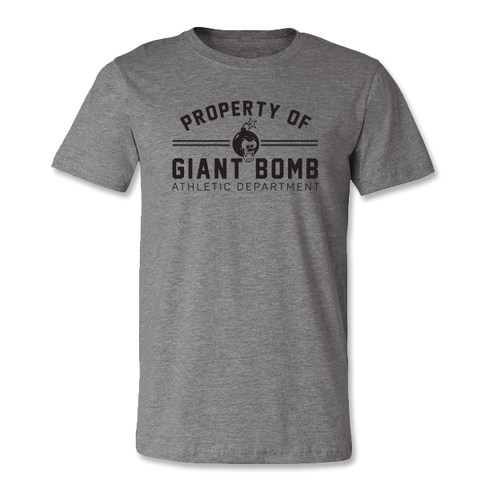 Giant Bomb Athletic T-Shirt